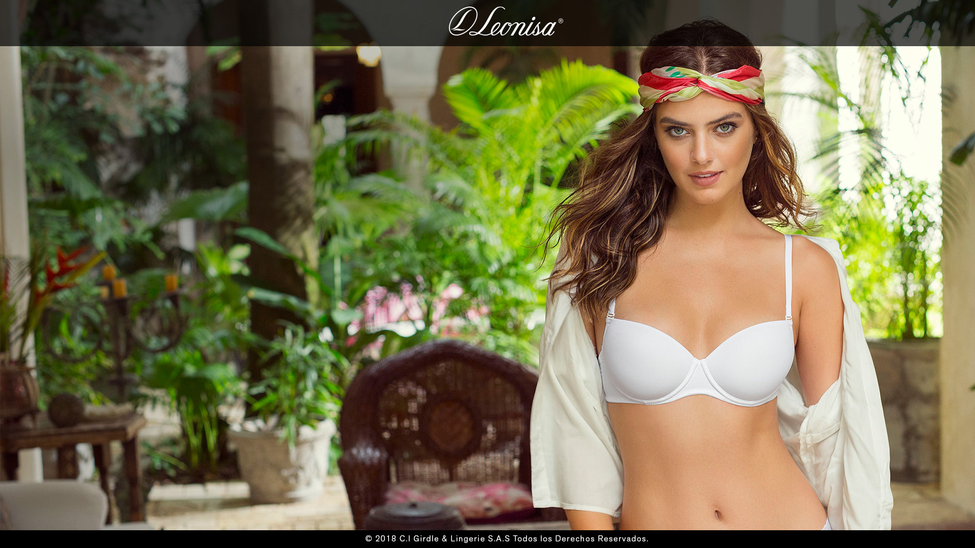 Beautiful Leonisa Bras & Sexy Lingerie Fashion Modeling Campaigns.